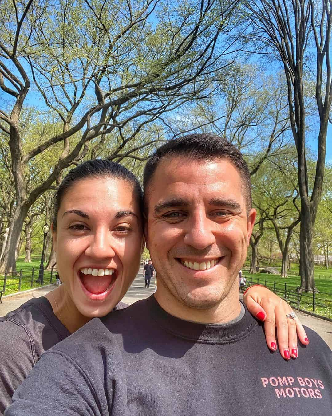 Anthony Pompliano and wife