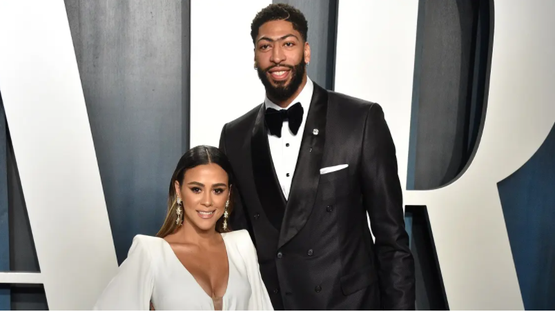 Anthony Davis and Marlen P in an event